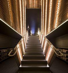 former slaughterhouse in Madrid that Spanish architects Churtichaga+Quadra-Salcedo have converted into a cinema.