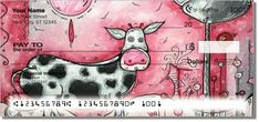 I Love Moo Personal Cow Checks