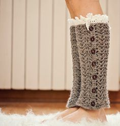 Instant download Crochet PATTERN for leg por monpetitviolon