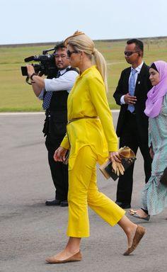 Máxima de Holanda, un sol radiante en Brunéi