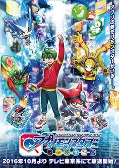 Os Digimon se tornarão Apps em Digimon Universe: Appli Monsters!