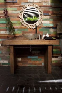 wooden wall coverings