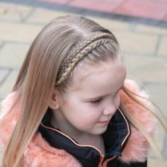 65 young girl's braid hairstyles mother could try for their princess - Page 21 of 32 - Beautrends Box Braids Hairstyles, Pretty Hairstyles, Simple Hairstyles, Hair Dos For Kids, Young Girls Hairstyles, Medium Hair Styles, Long Hair Styles, Beautiful Braids, Girls Braids