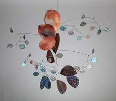 Water over Rocks II by Sydney-based artist Jade Oakley Mobiles, Mobile Art, Hanging Mobile, Oakley, Jade, Sydney, Art Du Fil, Kinetic Art, Artwork Images