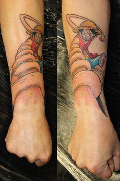 15 Tatuajes de One Piece ¿Cual te gusta más?