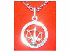sterling silver .925 scales pendant zodiac charm libra Real Sterling silver 925 pendant Charm jewelry  find this item at https://www.etsy.com/shop/princeofdiamonds