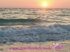 Peaceful walks on the beach at sunset. Just what you were asking for. We have a solution. Book your Beach holiday with http://beachrentals.mobi/ #BradentonBeach #VacationFlorida #Beachrentals #Wanderlust