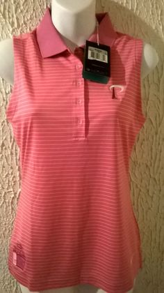 Nike Dri Fit Golf Shirt new With tags, Breast Cancer Awareness