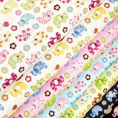 (100% Cotton Fabric per FQ - VK30. Fine quality 100% cotton print fabric. Beautiful printing art of cotton. Sold per fat quarter (FQ). approx). Our fabrics also sold by the yard (90 X 110 cm). Multiple order will be cut continuous as one piece. | eBay!