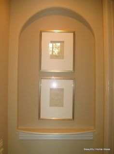 1000 images about wall niches on pinterest wall niches for How to decorate an alcove in a wall