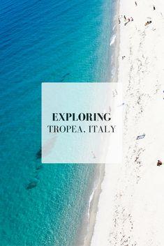 Italy Travel Tips | Exploring Tropea, Southern Italy #italytravel