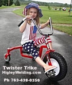 Twister Trike For Adults and Kids... www.Specialneeds.bike Ph 763-438-0356