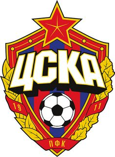 PFC CSKA Moscow (Moscú/Moskau/Moscou/Mosca/Moskva) Professional Football Club Central Sports Club of Army Moscow (Профессиональный футбольный клуб ЦСКА Москва) Country: Russia / Россия. Founded/Fundado: Badge/Crest/Logo/Esc Soccer Logo, Football Team Logos, Football Soccer, Soccer Teams, Chelsea Football, Sports Logos, Football Design, Football Mexicano, Iron On Embroidered Patches