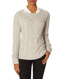 Cable Knit Sweater from THELIMITED.com