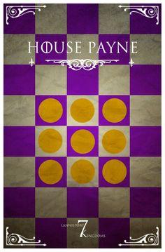 House Payne Got Lannister, Game Of Thrones Houses, Custom Decks, Armies, Ice, Home Decor, Books, Decoration Home, Libros