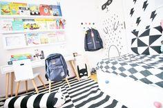 Rustaupp blog - eclectic kids room