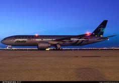 Alitalia B777 Skyteam livery