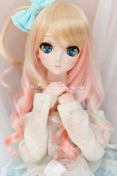 Porcelain Made In China With A Marking Beautiful Barbie Dolls, Pretty Dolls, Kawaii Doll, Kawaii Anime, Bratz Doll, Blythe Dolls, Cute Baby Dolls, Realistic Dolls, Asian Doll