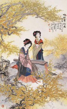 Hua Sanchuan(华三川) ,  梅林清韵图