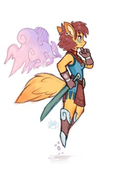 Foxy Warrior by LuigiL on DeviantArt  ★    CHARACTER DESIGN REFERENCES (https://www.facebook.com/CharacterDesignReferences & https://www.pinterest.com/characterdesigh) • Love Character Design? Join the Character Design Challenge (link→ https://www.facebook.com/groups/CharacterDesignChallenge) Share your unique vision of a theme, promote your art in a community of over 25.000 artists!    ★