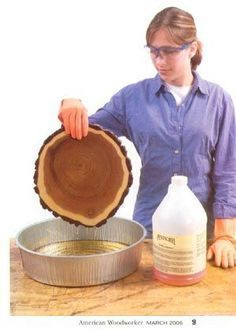 Plans of Woodworking Diy Projects - how to preserve wood slices/bases for centerpiece wed-wed-wedding-d Get A Lifetime Of Project Ideas & Inspiration! Diy Wood Projects, Garden Projects, Projects To Try, Dremel Projects, Garden Ideas, Wood Slice Crafts, Wood Crafts, Deco Champetre, Garden Paths
