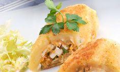 Receta de Patata rellena de atún