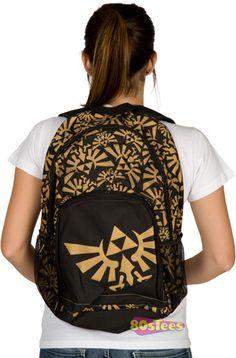 Zelda Tri-Force Backpack