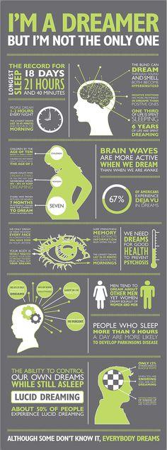 I'm a Dreamer Infographic | 4.5 DESIGN