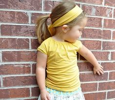 Adult to child ruched top