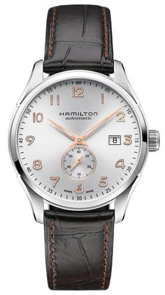 Hamilton Watch American Classic Jazzmaster Maestro Small Second #bezel-fixed #bracelet-strap-leather #brand-hamilton #case-material-steel #case-width-40mm #date-yes #delivery-timescale-call-us #dial-colour-silver #gender-mens #luxury #movement-automatic #official-stockist-for-hamilton-watches #packaging-hamilton-watch-packaging #style-dress #subcat-american-classic-jazzmaster #supplier-model-no-h42515555 #warranty-hamilton-official-2-year-guarantee #water-resistant-50m