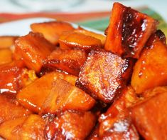 """Easy """"No Bake"""" Sauteed Candied Yams   A Soulful Twist"""