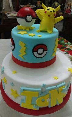 Torta Cumpleaños, Pikachu