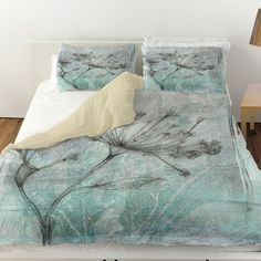Ombre Wildflowers 1 Duvet Cover