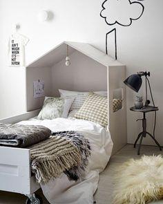 Un lit cabane DIY pour les enfants | @covercouch