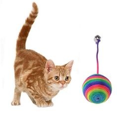 Cat Weave Ball Toy. 30% proceeds from every purchase goes to animal charities.