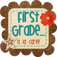 first grade blog with a tpt store
