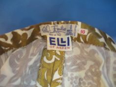 Old Pucci Label circa Mad Men Party, Vintage Couture, Close Up Pictures, Emilio Pucci, Fashion History, Pin Up Girls, 1950s, Label, Costume