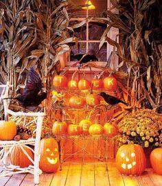 Depósito Santa Mariah: Abóboras Para O Halloween! Ideias Fantásticas!