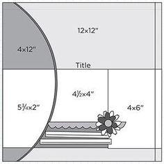 Scrapbook Page Sketch 360