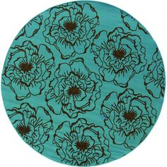 Wonderful Oriental Weavers Caspian 7.10 Ft. Round Indoor/Outdoor Rug ($199) ❤ Liked  On Polyvore Featuring Home, Rugs, Outdoor Patio Rugs, Round Outdoor Rugs,  ...