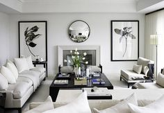 10 Winter White Living Rooms | TheNest.com