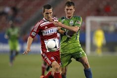 Zach Loyd (left) has started 27 of 28 games this season for FC Dallas. Associated Press file