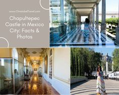 Chapultepec Castle in Mexico City: Facts and Photos -  The park around Castillo de Chapultepec is beautiful and the black and white tiles in the corridors give a stunning photoshoot location. The interior is full of vintage ornaments and furniture that presidents used. It's also called 'grasshopper hill'. By Christobel Travel
