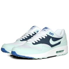 new styles 522ad 242a5 Nike Air Max 1 (White, Mint Candy   Obsidian) ( 100-200) - Svpply