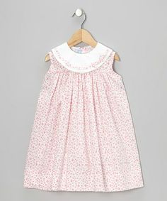Love this Pink Floral Float Dress - Infant & Toddler by Monday's Child on #zulily! #zulilyfinds