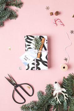 Mes emballages de Noël (et les free printables)