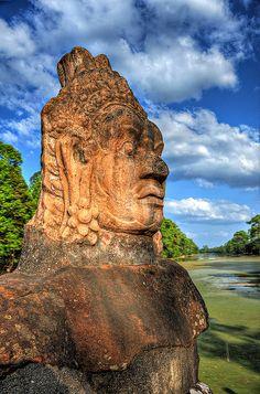 Bayon Angkor Tom Cambodia http://viaggi.asiatica.com/
