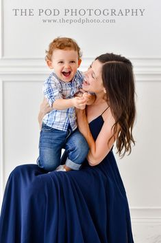 Beautiful Studio Mommy & Me Portraits