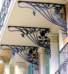 Barcelona - Balmes 074 d by Arnim Schulz. Railing Design, Gate Design, Door Design, Wrought Iron Decor, Wrought Iron Gates, Iron Balcony, Grill Design, Iron Furniture, Iron Steel