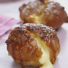 Cr�me Brul�e Doughnuts   This clever twist on the classic French dessert, Cr�me Brulee, is incredibly moreish and will make the perfect add-on to afternoon tea.